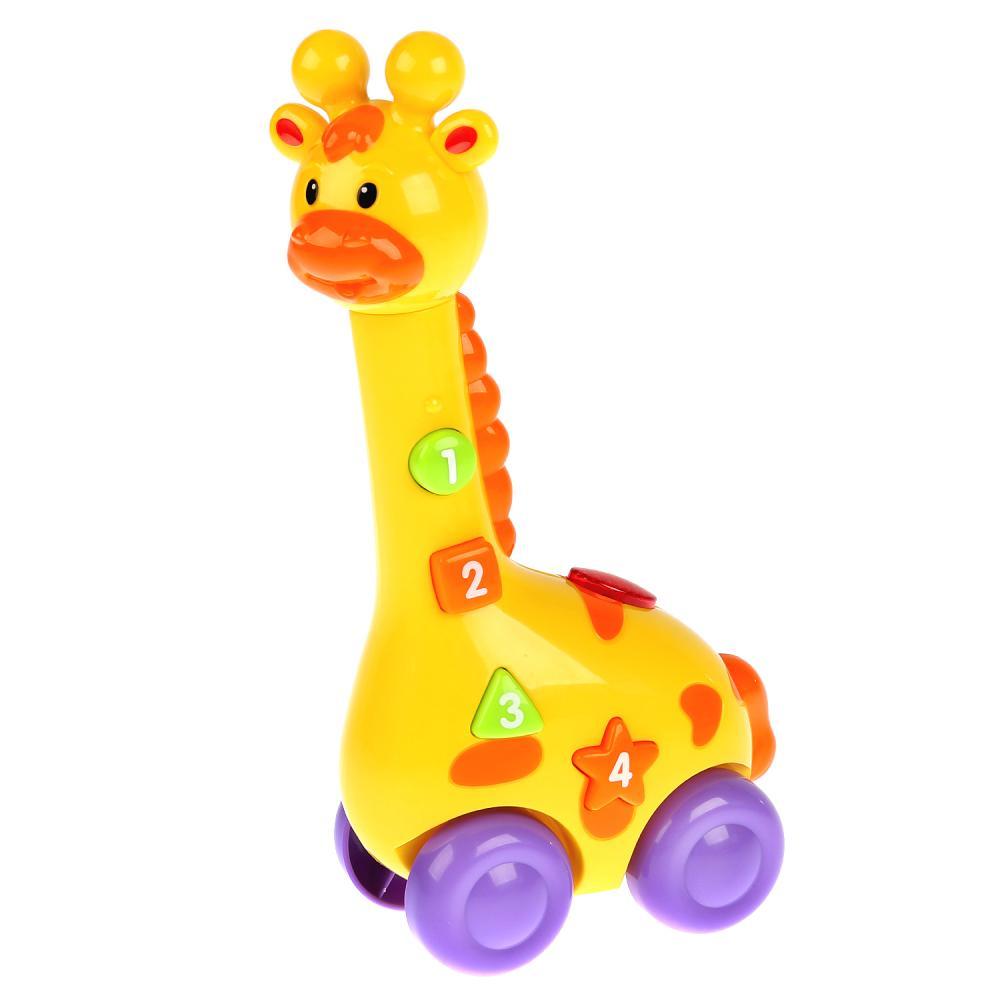 Купить Обучающая игрушка - Жираф, свет, звук, стихи А. Барто, Умка