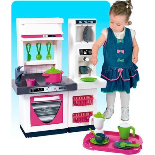 Модульная кухня из 2 модулей и набор посудыДетские игровые кухни<br>Модульная кухня из 2 модулей и набор посуды<br>