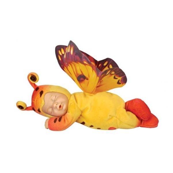 Кукла из серии «Детки-бабочки», желтые, коллекция ПрестижКуклы детки ANNE GEDDES<br>Кукла из серии «Детки-бабочки», желтые, коллекция Престиж<br>