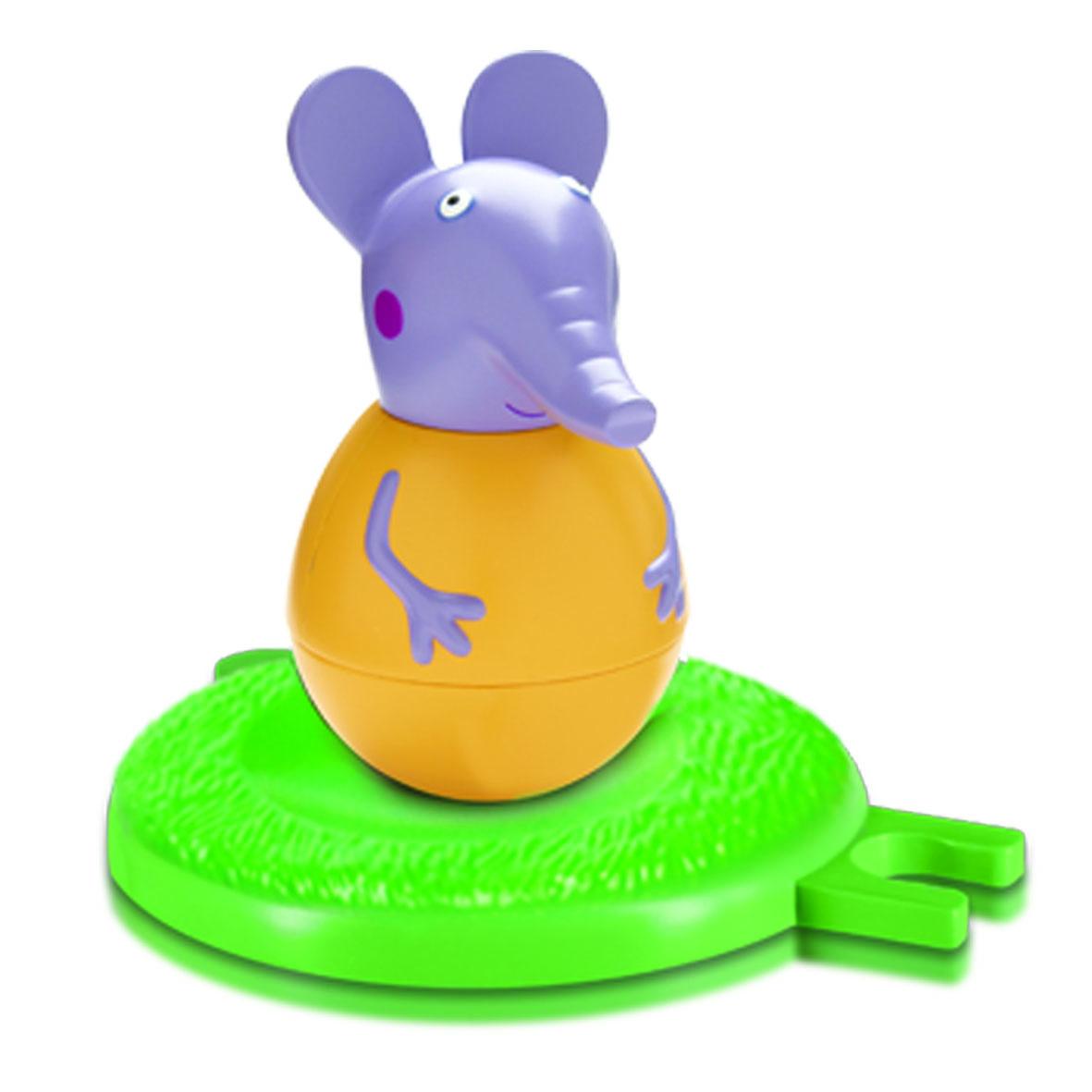 Купить Фигурка-неваляшка Weebles «слоник Эмили» тм Peppa Pig, Росмэн