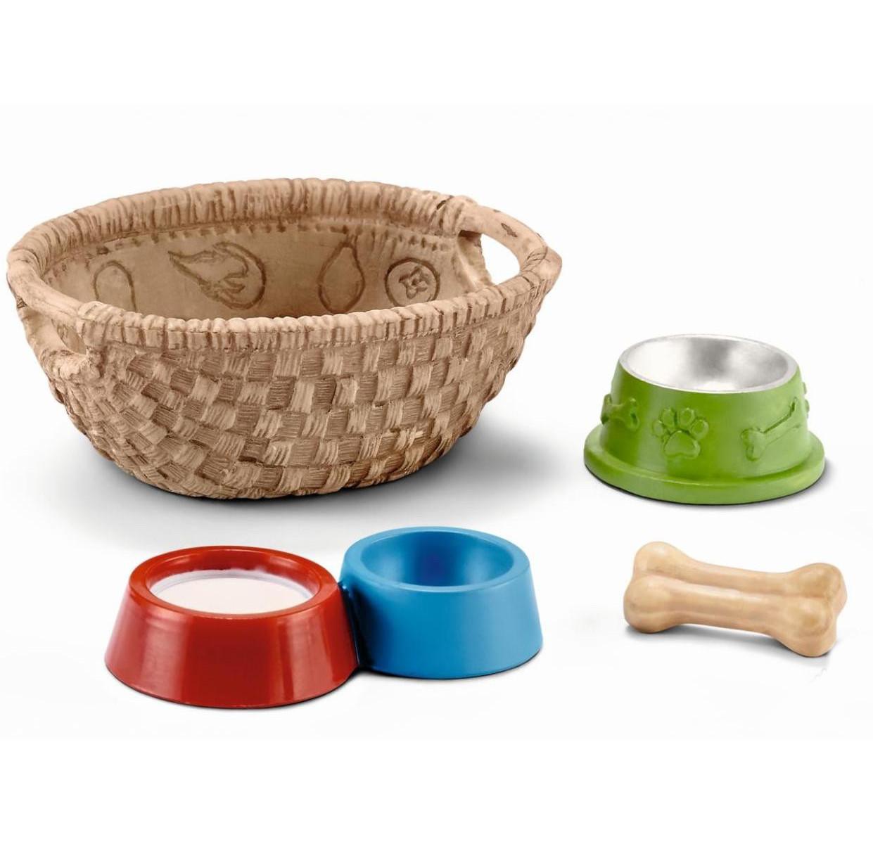 Купить Игровой набор - Корм для собак и котов, Schleich