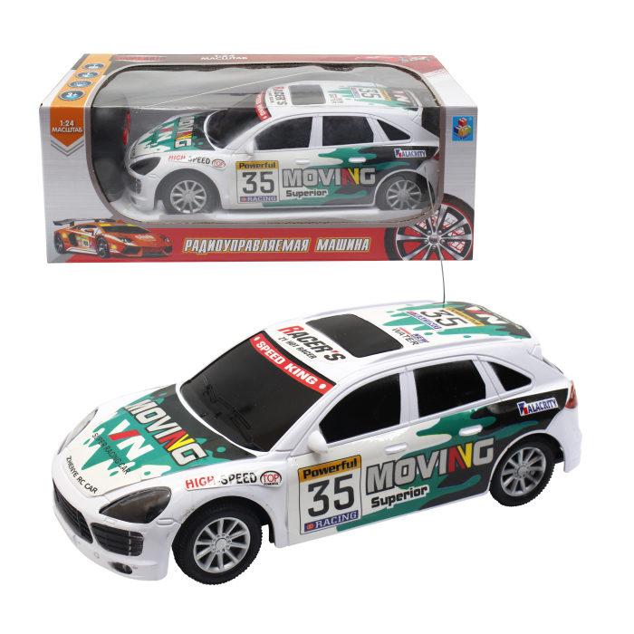 картинка Машина Спортавто на радиоуправлении, масштаб 1:24, свет от магазина Bebikam.ru