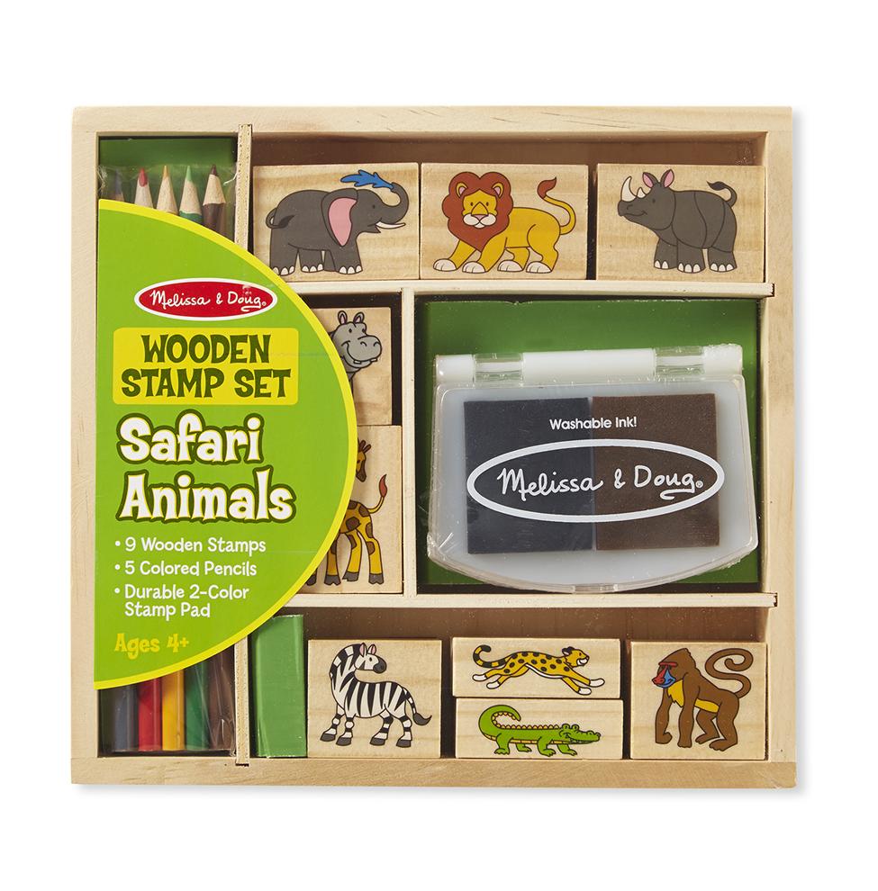 Набор печатей - животные АфрикиШтампики<br>Набор печатей - животные Африки<br>