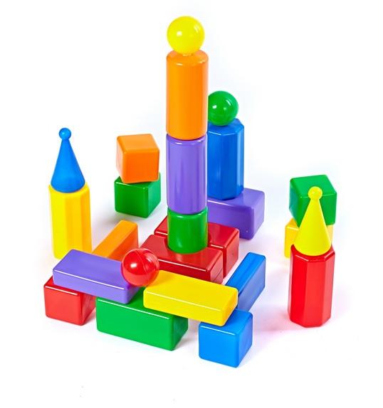 Строительный набор - Стена-2, 25 элементовКонструкторы других производителей<br>Строительный набор - Стена-2, 25 элементов<br>