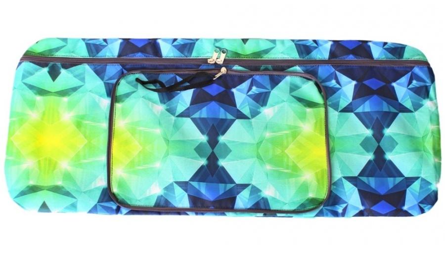 Чехол-портмоне складной для самоката Y-Scoo 125 - Diamond EmeraldАксессуары для самокатов<br>Чехол-портмоне складной для самоката Y-Scoo 125 - Diamond Emerald<br>