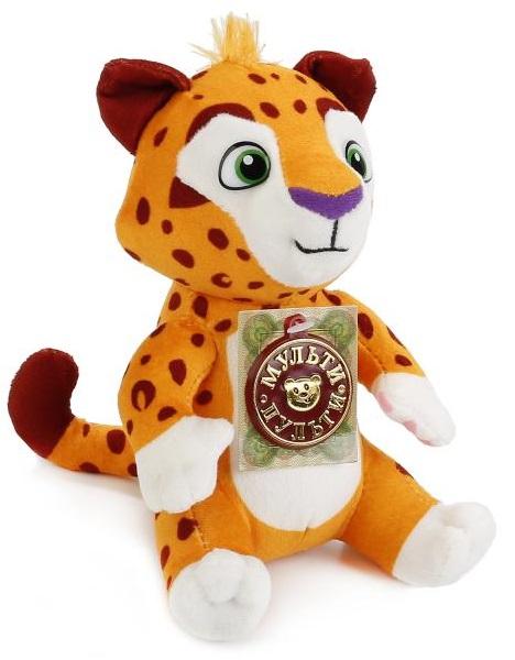 Купить Мягкая игрушка Тиг и Лео - Лео 25 см, звук, Мульти-Пульти
