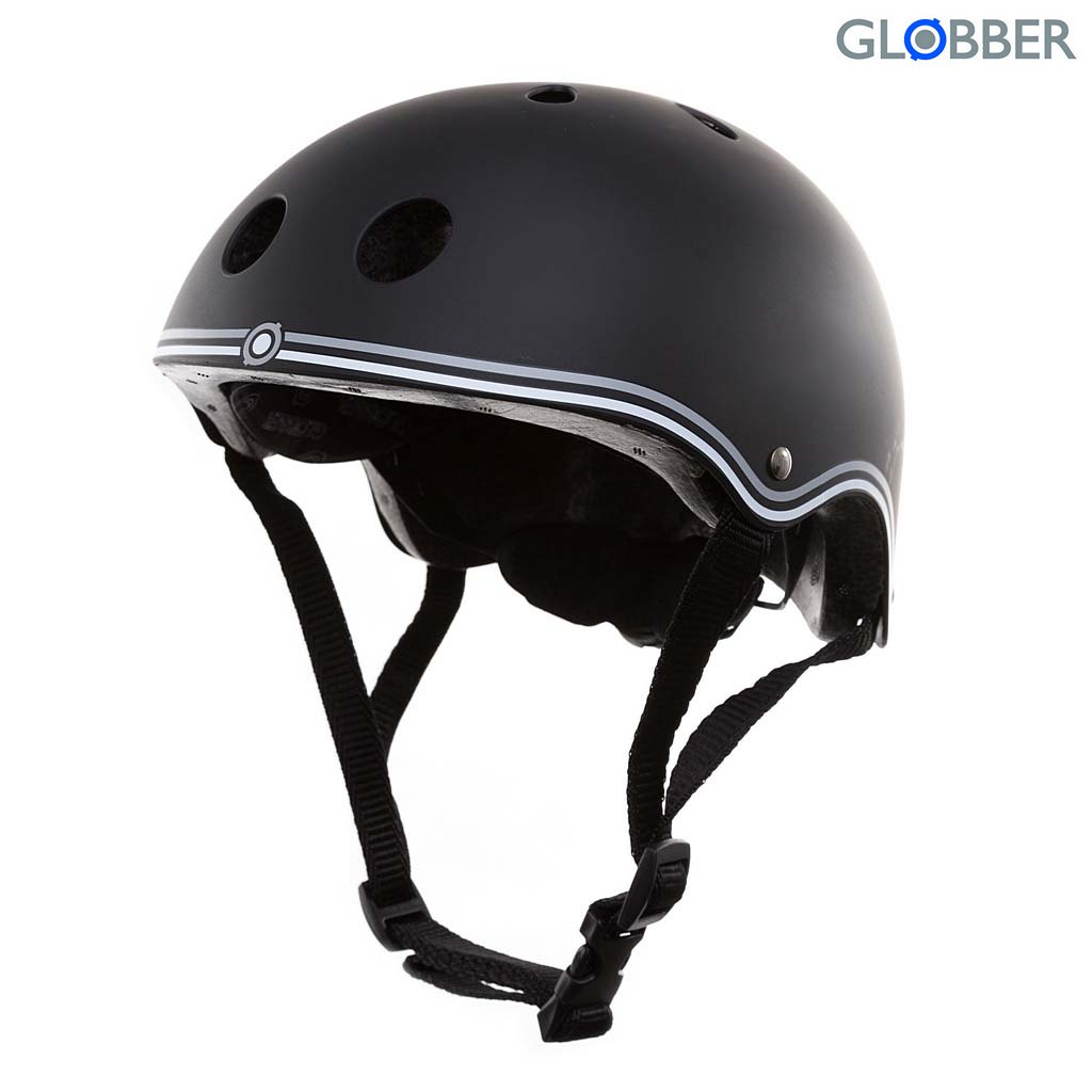 500-120 Шлем Globber Junior, black, XS-S 51-54 смЗащита: шлемы и пр.<br>500-120 Шлем Globber Junior, black, XS-S 51-54 см<br>