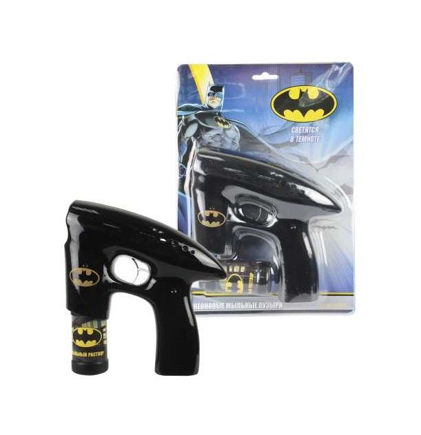 Купить Мыльный пистолет из серии Batman, светится в темноте, звук, 1TOY