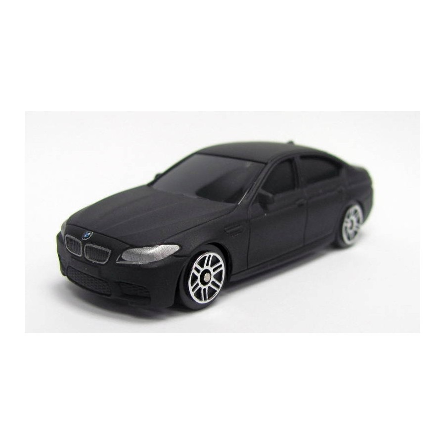 Купить Машина металлическая RMZ City - BMW M5, 1:64, черный матовый цвет