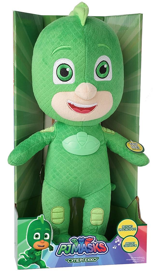 Мягкая игрушка со звуком - Гекко, 38 смМягкие куклы<br>Мягкая игрушка со звуком - Гекко, 38 см<br>