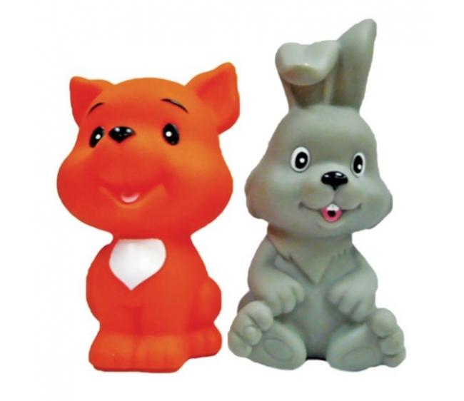 Купить со скидкой Набор для купания - Лисенок и зайчонок