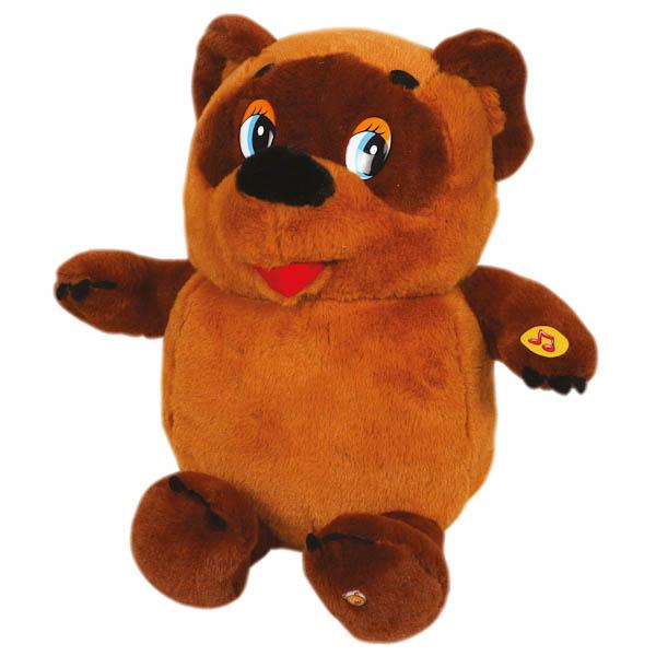 Мягкая игрушка Винни-Пух, озвученный, с русским чипом, 25 см.Игрушки Союзмультфильм<br>Мягкая игрушка Винни-Пух, озвученный, с русским чипом, 25 см.<br>