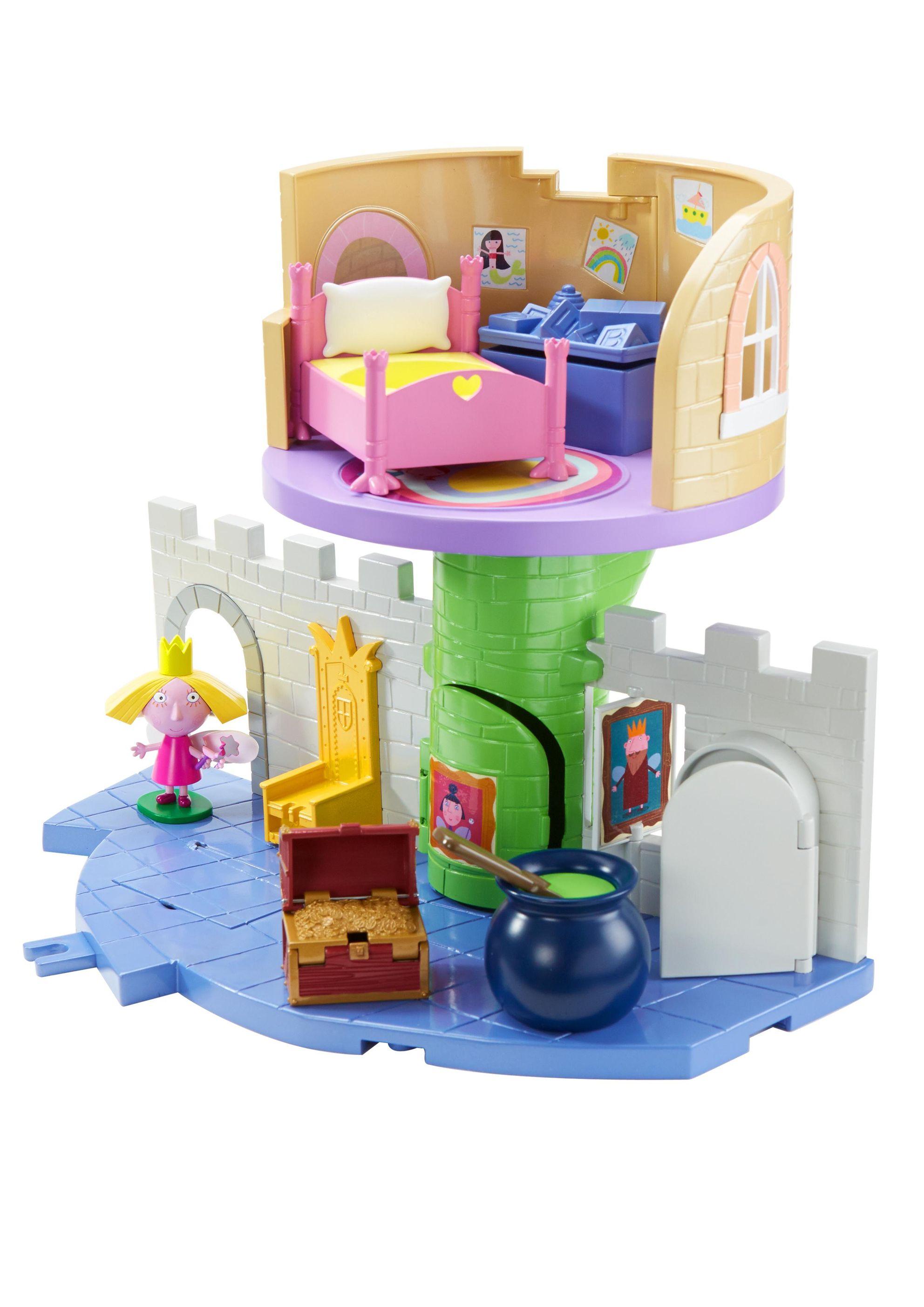 Игровой набор  Волшебный замок с фигуркой Холли из серии Маленькое королевство Бена и Холли - Маленькое королевство Бена и Холли, артикул: 142828