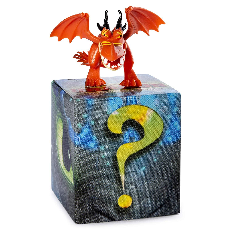 Купить Набор из 2 коллекционных фигурок Как приручить дракона-3 - Кривоклык, 5 см, Spin Master