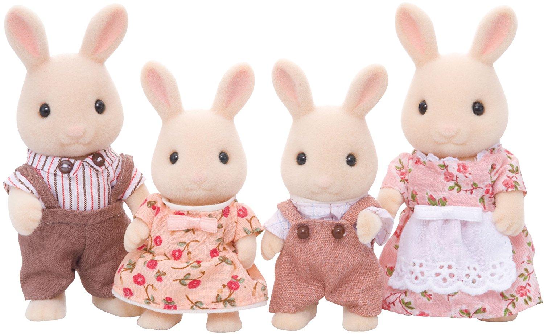 Набор  Семья Молочных Кроликов - Игрушки Sylvanian Families, артикул: 97638