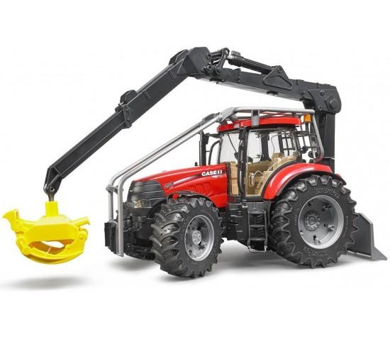 Купить Трактор Bruder Case CVX 230 с захватом для бревен