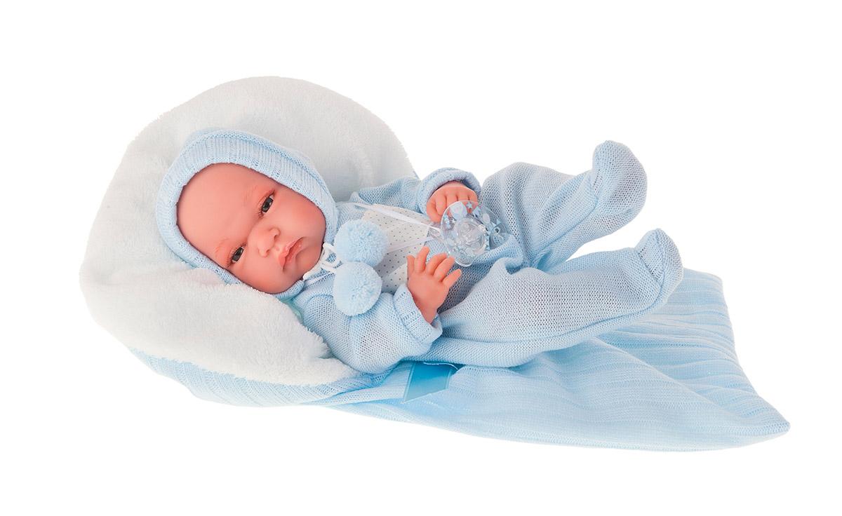 Купить Кукла-младенец Диана в голубом, 33 см., Antonio Juan Munecas