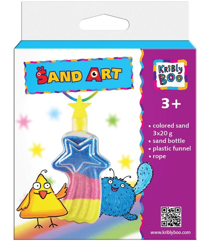 Набор для творчества с цветным песком Комета