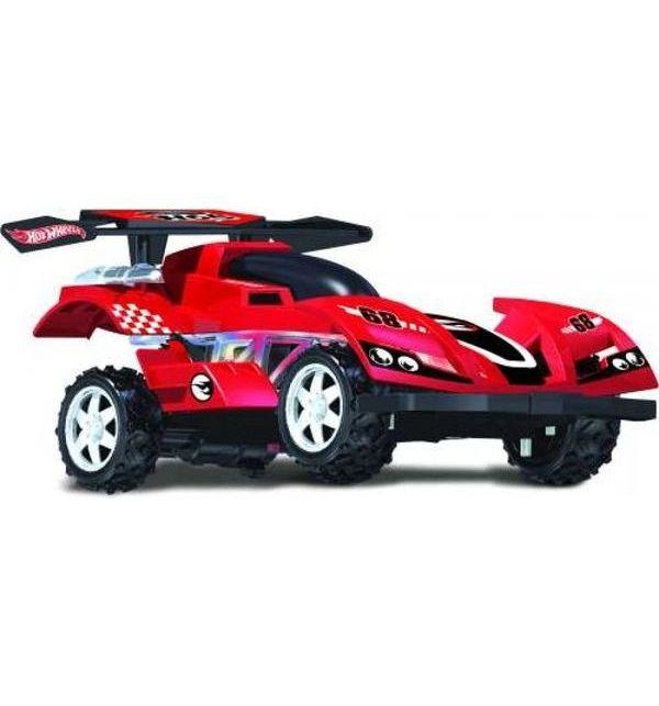 Купить Машинка на р/у Hot Wheels - багги, cо светом, скорость до 17 км/ч, красная, 1TOY