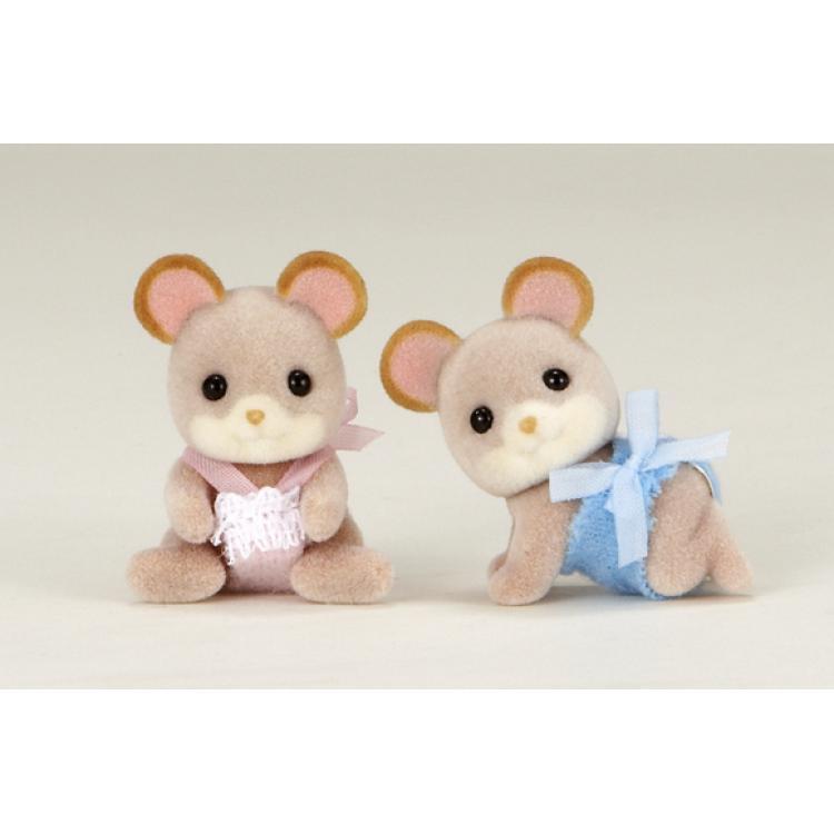 """Набор SylvanianFamillies """"Мышки-двойняшки"""" от Toyway"""