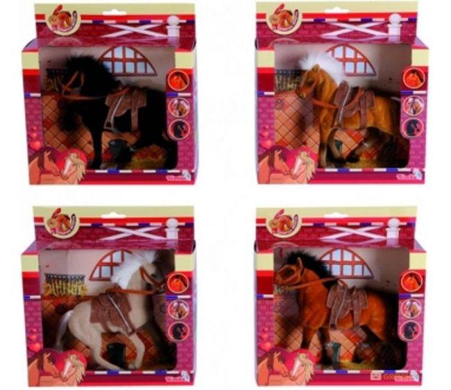 Фигурка - Лошадка 19 см., 4 видаЛошади (Horse)<br>Фигурка - Лошадка 19 см., 4 вида<br>