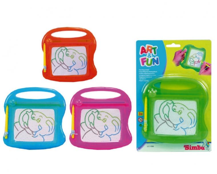 Доска для рисования Art FunДоски и экраны для рисования<br>Цветные доски для многократного использования. Рисуем - стираем и рисуем снова.<br>