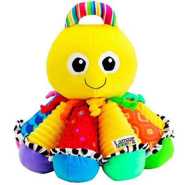 Мягкая игрушка - Музыкальный ОсьминожекИнтерактив для малышей<br>Мягкая игрушка - Музыкальный Осьминожек<br>