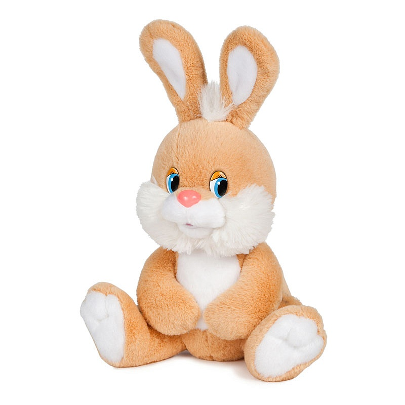 Мягкая игрушка - Зайка Знайка, озвученный, 20 смЗайцы и кролики<br>Мягкая игрушка - Зайка Знайка, озвученный, 20 см<br>