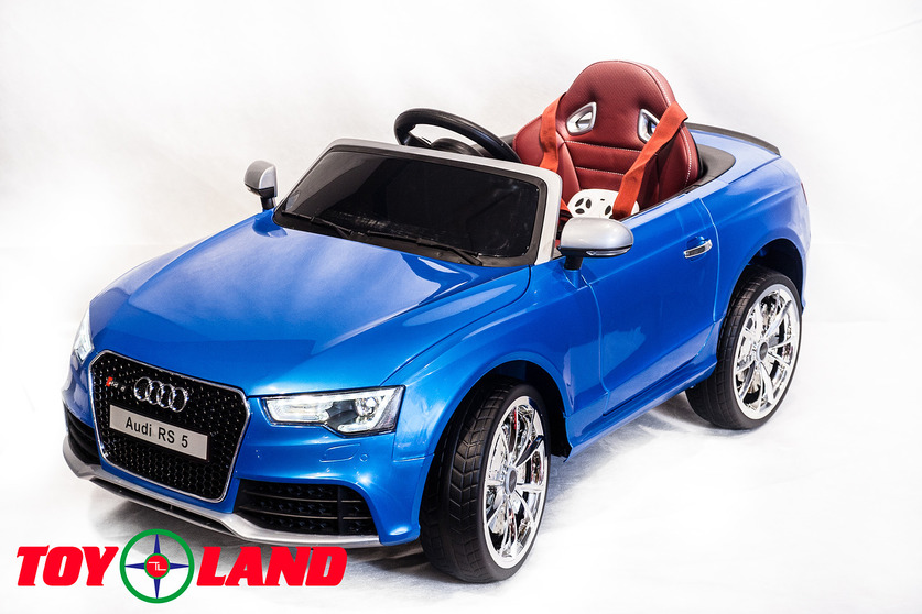 Электромобиль Audi RS5 синийЭлектромобили, детские машины на аккумуляторе<br>Электромобиль Audi RS5 синий<br>
