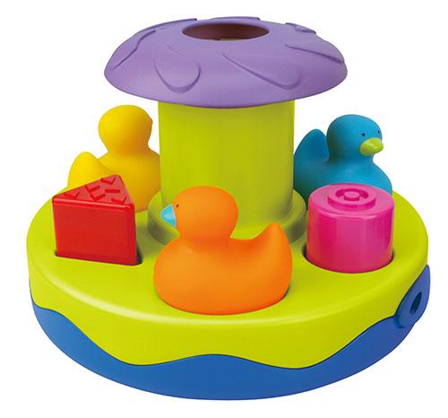 Игрушка для купания - КарусельРазвивающие игрушки K-Magic от KS Kids<br>Игрушка для купания - Карусель<br>