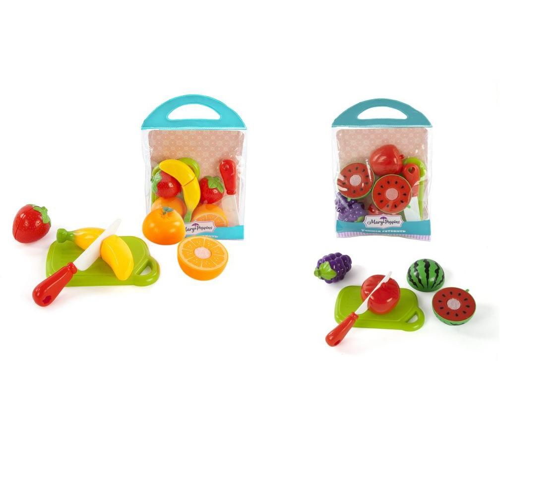 Купить Набор для резки с 3 фруктами, 2 вида, Mary Poppins
