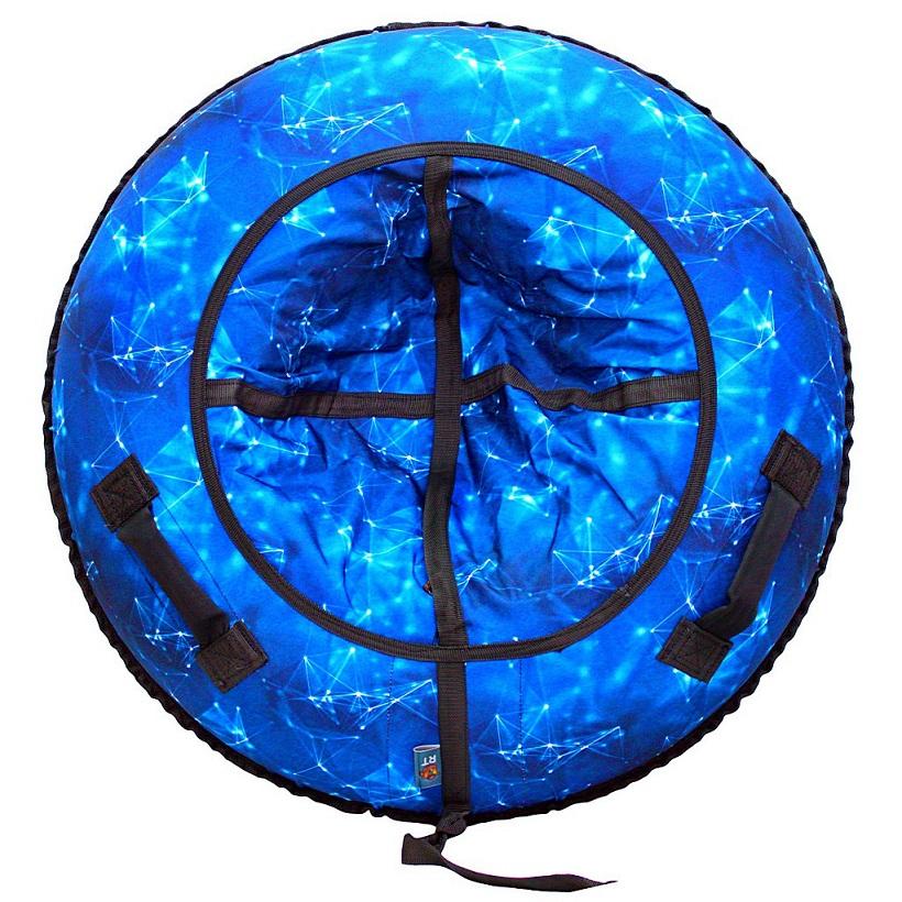 Санки надувные Тюбинг - Созвездие синее, диаметр 105 см.