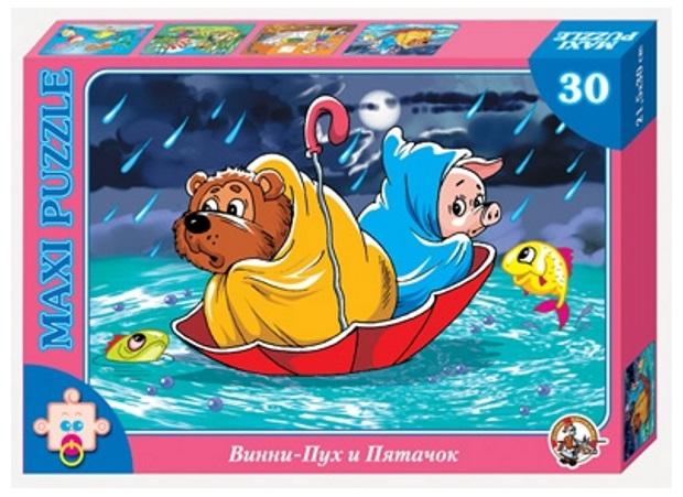 картинка Пазл макси «Винни Пух и Пятачок» 30 элементов от магазина Bebikam.ru