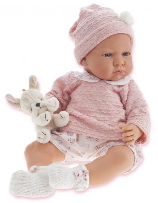 Кукла Бернардита в розовом, озвученная, 52 см.Куклы Антонио Хуан (Antonio Juan Munecas)<br>Кукла Бернардита в розовом, озвученная, 52 см.<br>