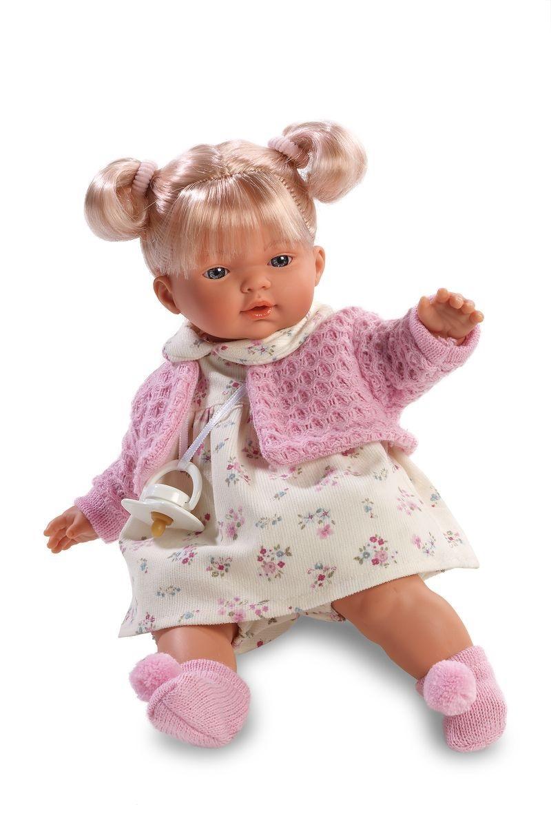 Кукла Ариана 33 см., со звукомИспанские куклы Llorens Juan, S.L.<br>Кукла Ариана 33 см., со звуком<br>