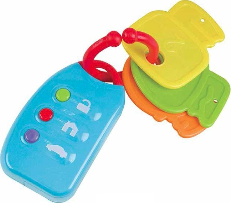 Развивающая игрушка - Мой первый брелок с ключамиДетские погремушки и подвесные игрушки на кроватку<br>Развивающая игрушка - Мой первый брелок с ключами<br>