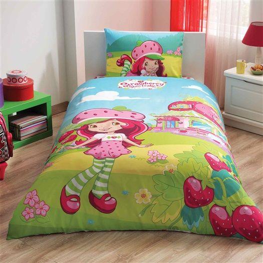 Комплект постельного белья Ranforce - Shortcake Dreamland, 1,5 спальныйДетское постельное белье<br>Комплект постельного белья Ranforce - Shortcake Dreamland, 1,5 спальный<br>