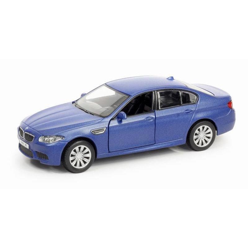Машина металлическая BMW M5, RMZ City, 1:32, инерционная, голубой матовыйChevrolet<br>Машина металлическая BMW M5, RMZ City, 1:32, инерционная, голубой матовый<br>