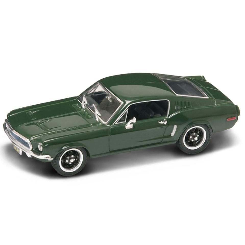 Коллекционный автомобиль - Мустанг Bullitt, образца 1968 года, масштаб 1/43, серия ПремиумВинтажные модели<br>Коллекционный автомобиль - Мустанг Bullitt, образца 1968 года, масштаб 1/43, серия Премиум<br>