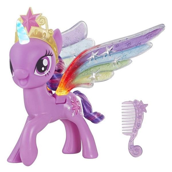 Купить My Little Pony - Пони Искорка с радужными крыльями, свет, Hasbro