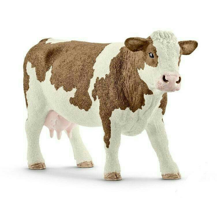 Купить Симментальская корова, Schleich