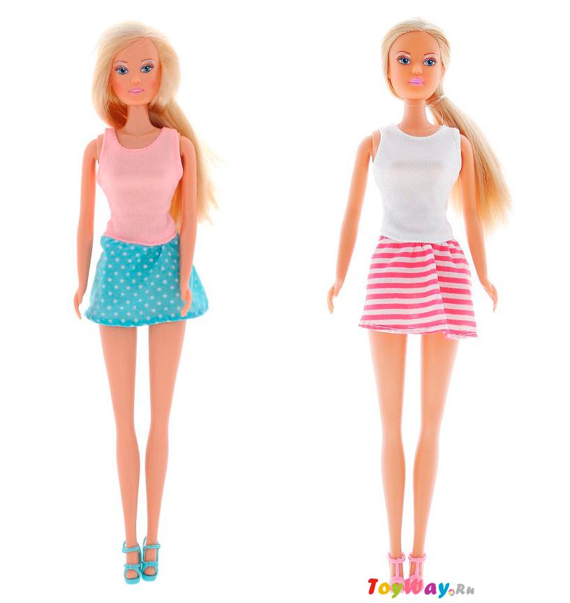 Кукла Штеффи - городская мода, 2 видаКуклы Steffi (Штеффи)<br>Кукла Штеффи - городская мода, 2 вида<br>