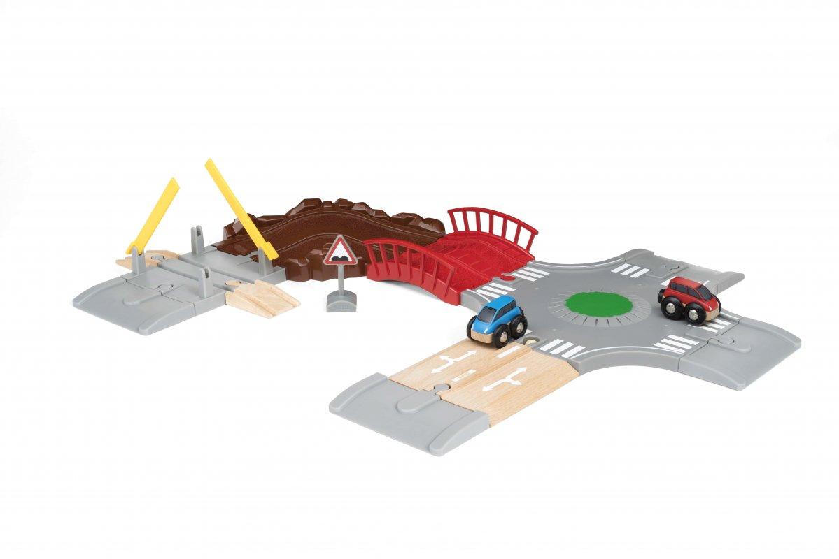 Игровой набор - Автомобильная дорога 14 элементов.