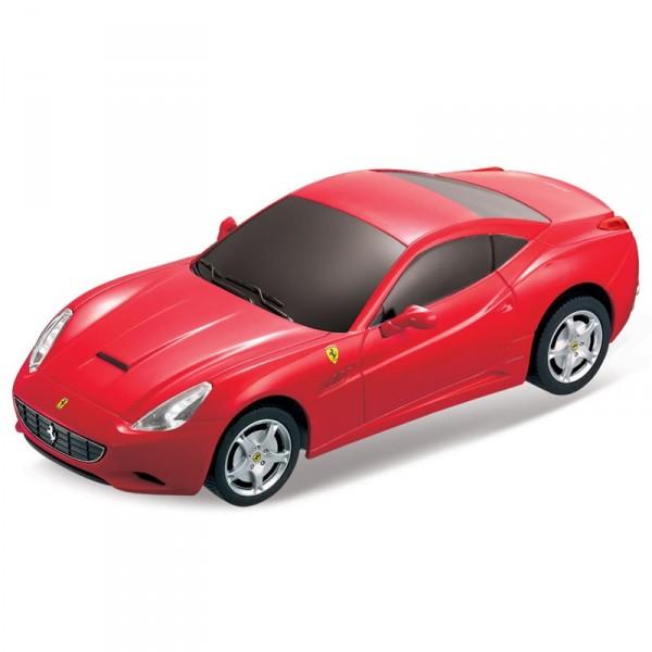 картинка Машина на р/у – Ferrari California, 1:24, красный, свет от магазина Bebikam.ru