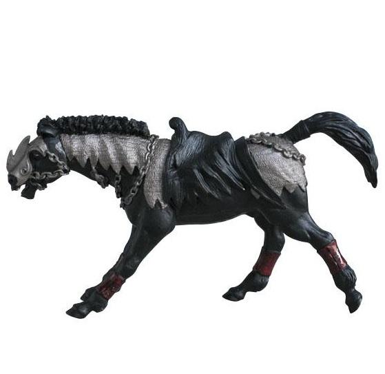 Фигурка Чёрного коня серии ФэнтезиФигурки Papo<br>Фигурка Чёрного коня серии Фэнтези<br>