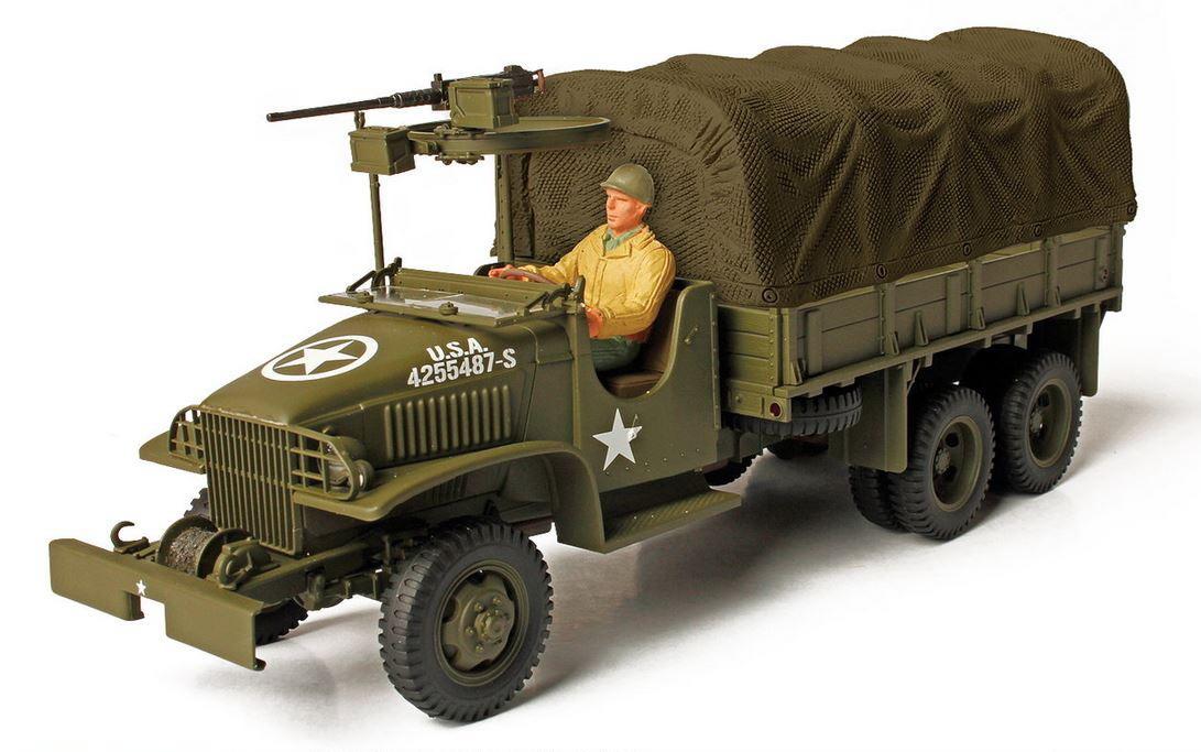 Коллекционная модель - американский GMC 2,5 тонный грузовик, Арденны 1944 год, 1/72Военная техника<br>Коллекционная модель - американский GMC 2,5 тонный грузовик, Арденны 1944 год, 1/72<br>