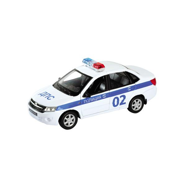 Модель машины 1:34-39 Lada Granta ПолицияLADA<br>Модель машины 1:34-39 Lada Granta Полиция<br>