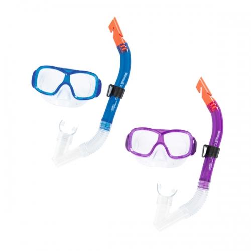 Купить Набор для ныряния – Щука, маска, трубка, 2 цвета, Bestway