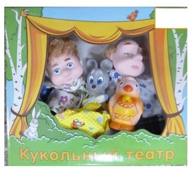 Кукольный театр - Курочка РябаДетский кукольный театр <br>Кукольный театр - Курочка Ряба<br>