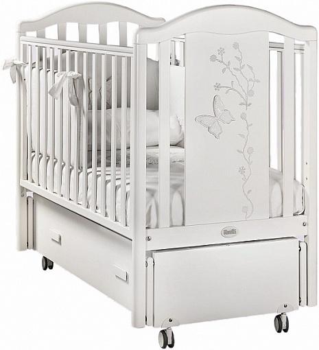 Кровать детская - Privilege Swing, BiancoДетские кровати и мягкая мебель<br>Кровать детская - Privilege Swing, Bianco<br>